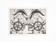RYAN TRAVIS CHRISTIAN 2020 Silk screen on paper 29,7 x 21 cm (unframed) Edition of 40