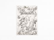 JOAKIM OJANEN 2020 Silk screen on paper 29,7 x 21 cm (unframed) Edition of 40